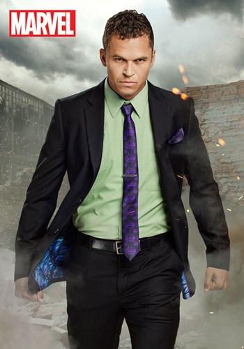 Incredible Hulk Slim Fit Suit Jacket (Secret Identity) upd2