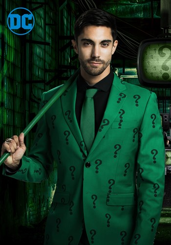 authentic the riddler slim fit suit jacket