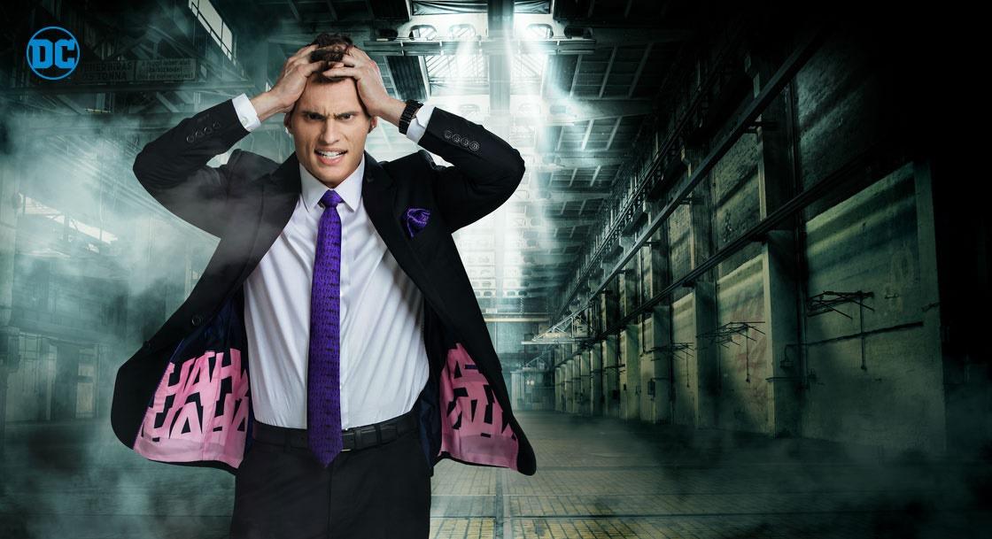 THE JOKER Slim Fit Suit Jacket Secret Identity