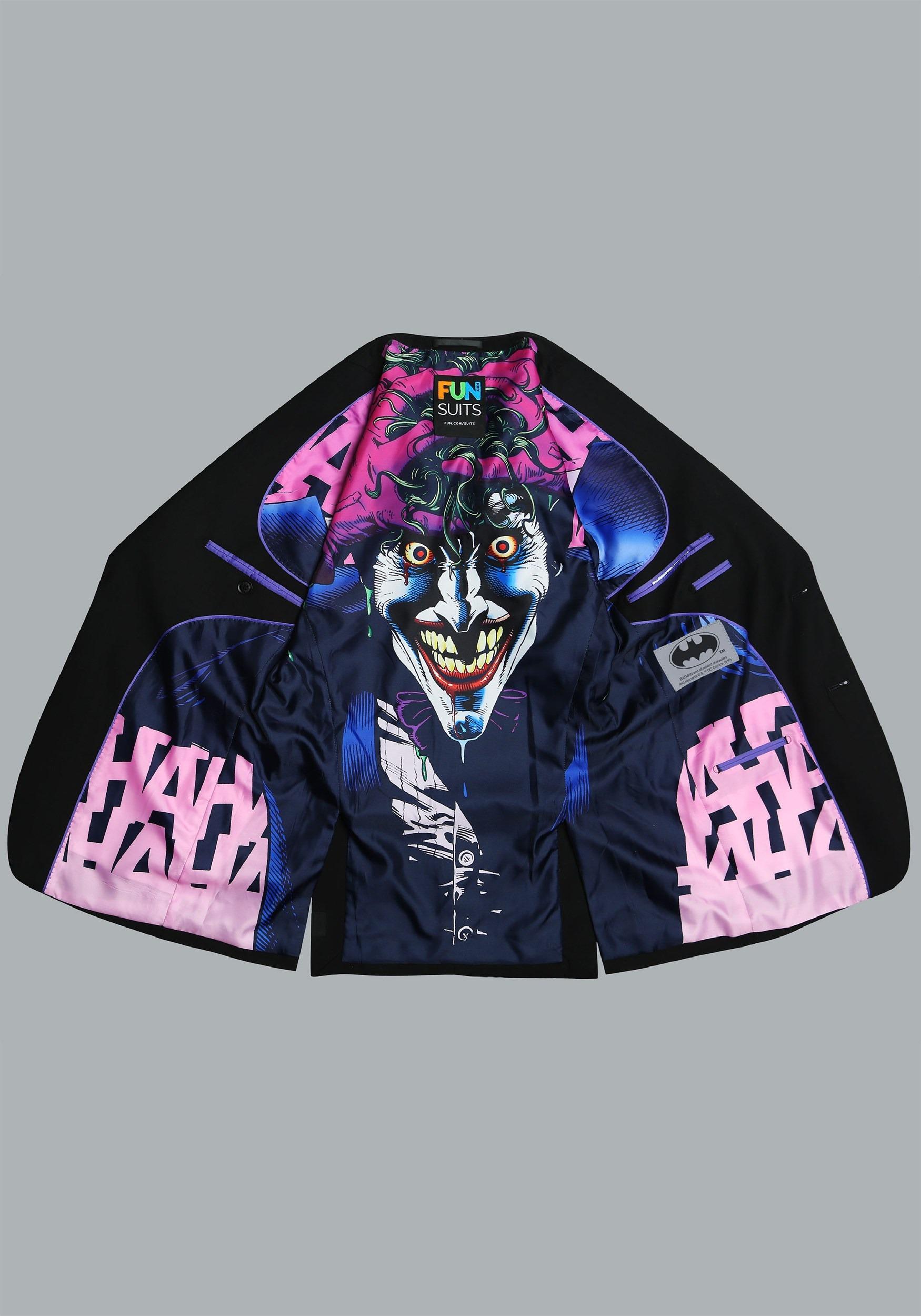 0da978ea47e The joker slim fit suit jacket secret identity jpg 2500x1750 Joker themed  gifts