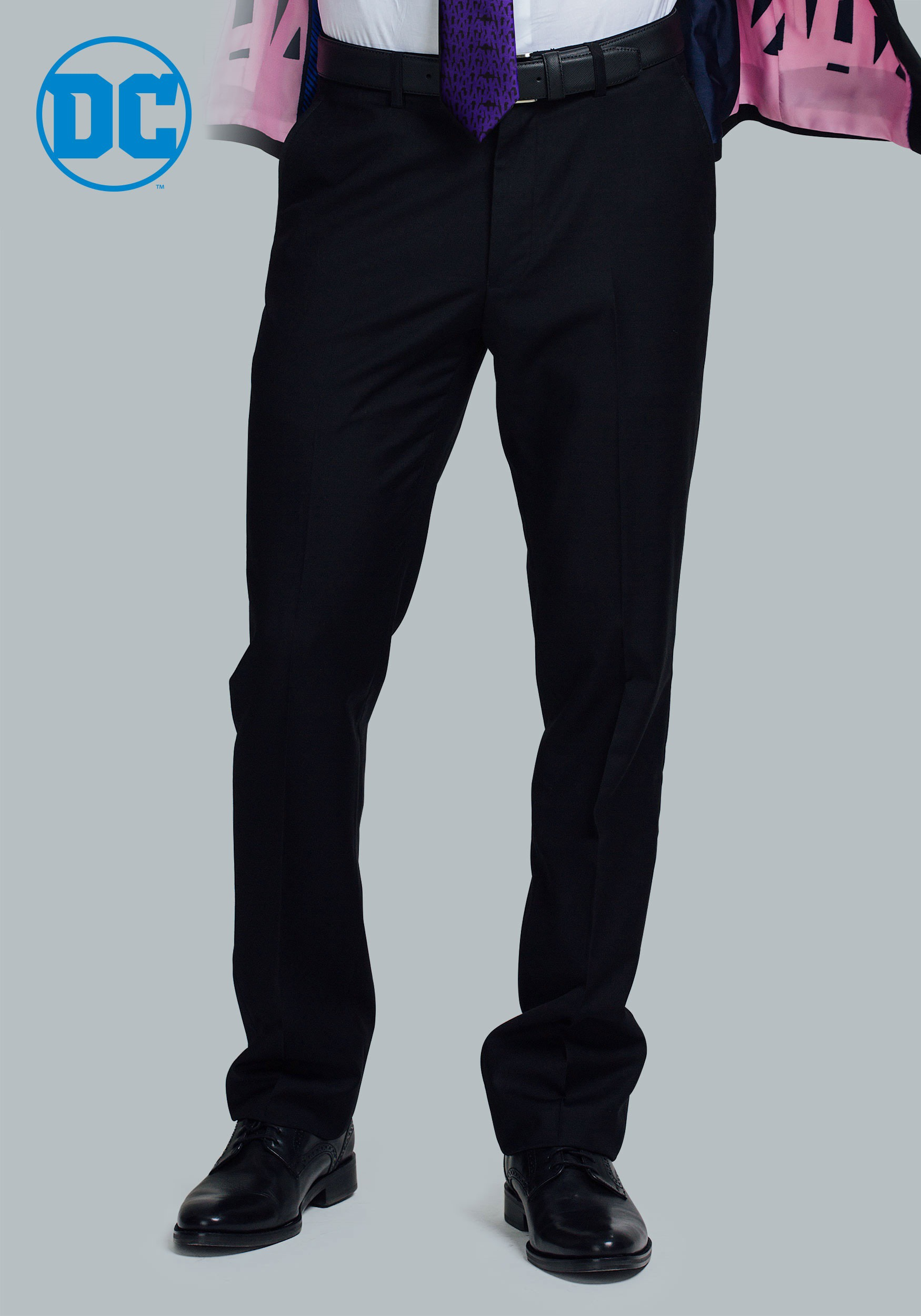 the joker slim fit suit pants secret identity. Black Bedroom Furniture Sets. Home Design Ideas
