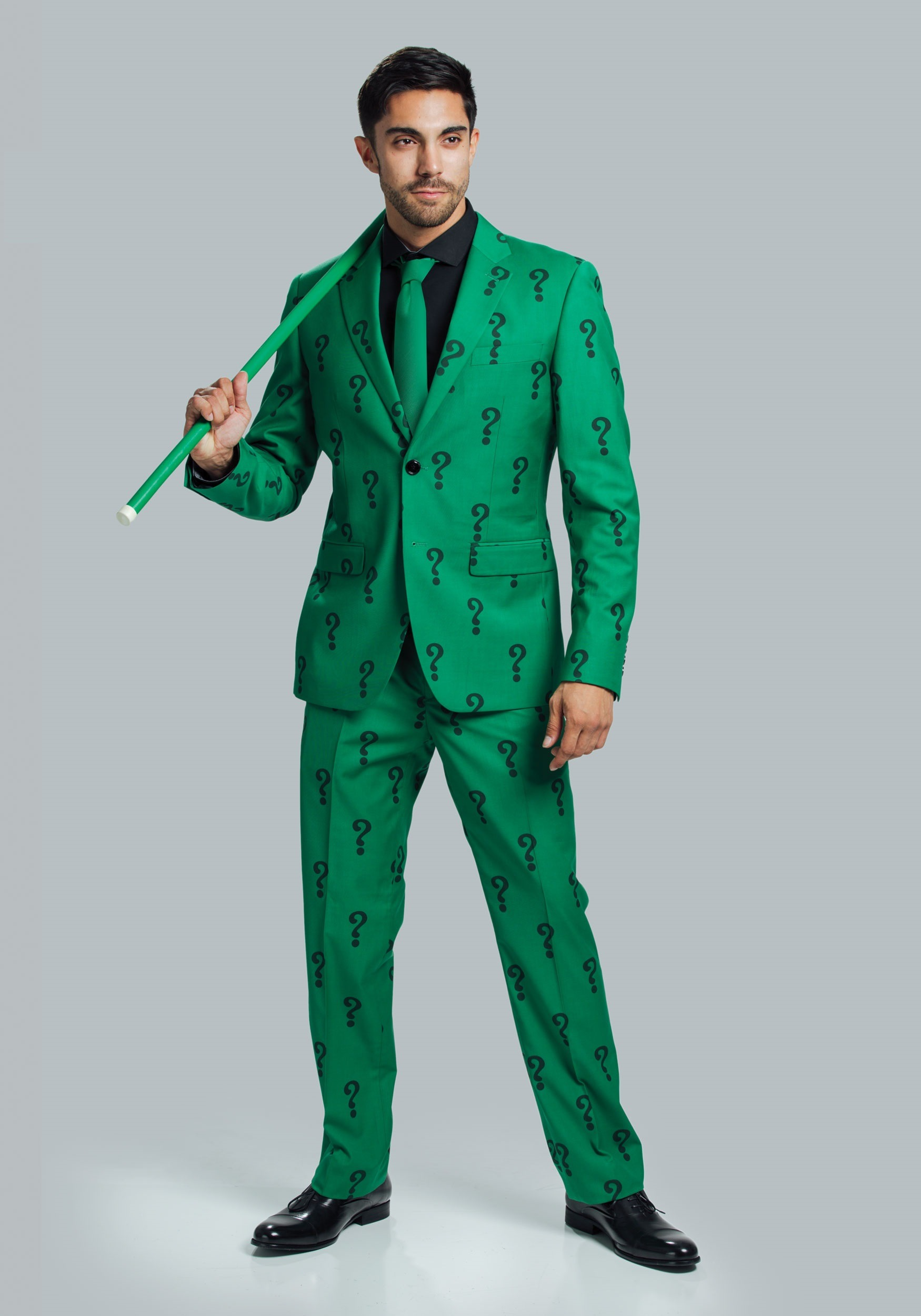 Authentic The Riddler Suit