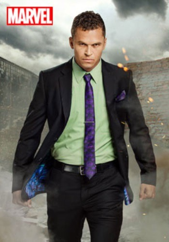 Secret Identity Incredible Hulk Suit For Men