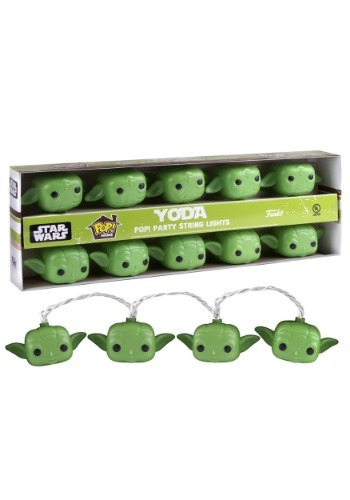 POP! Star Wars Yoda String Lights
