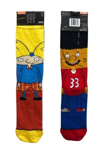 Adult Odd Sox Arnold Gerald Knit Socks