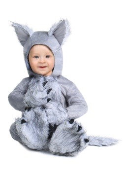 Infant Grey Wolf Costume