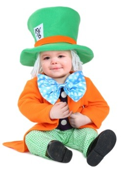 Infant Little Hatter Costume