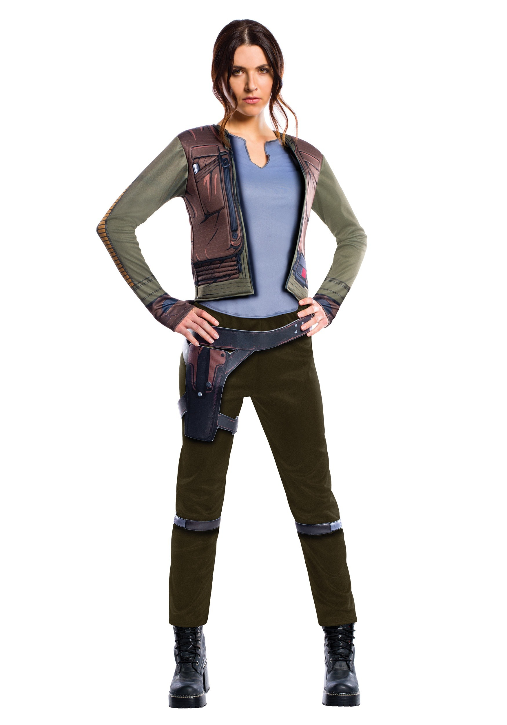 Star Wars: Rogue One Adult Deluxe Jyn Erso Costum RU820314