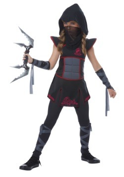 Black Ninja Girls Costume