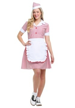 Car Hop Costume for Women