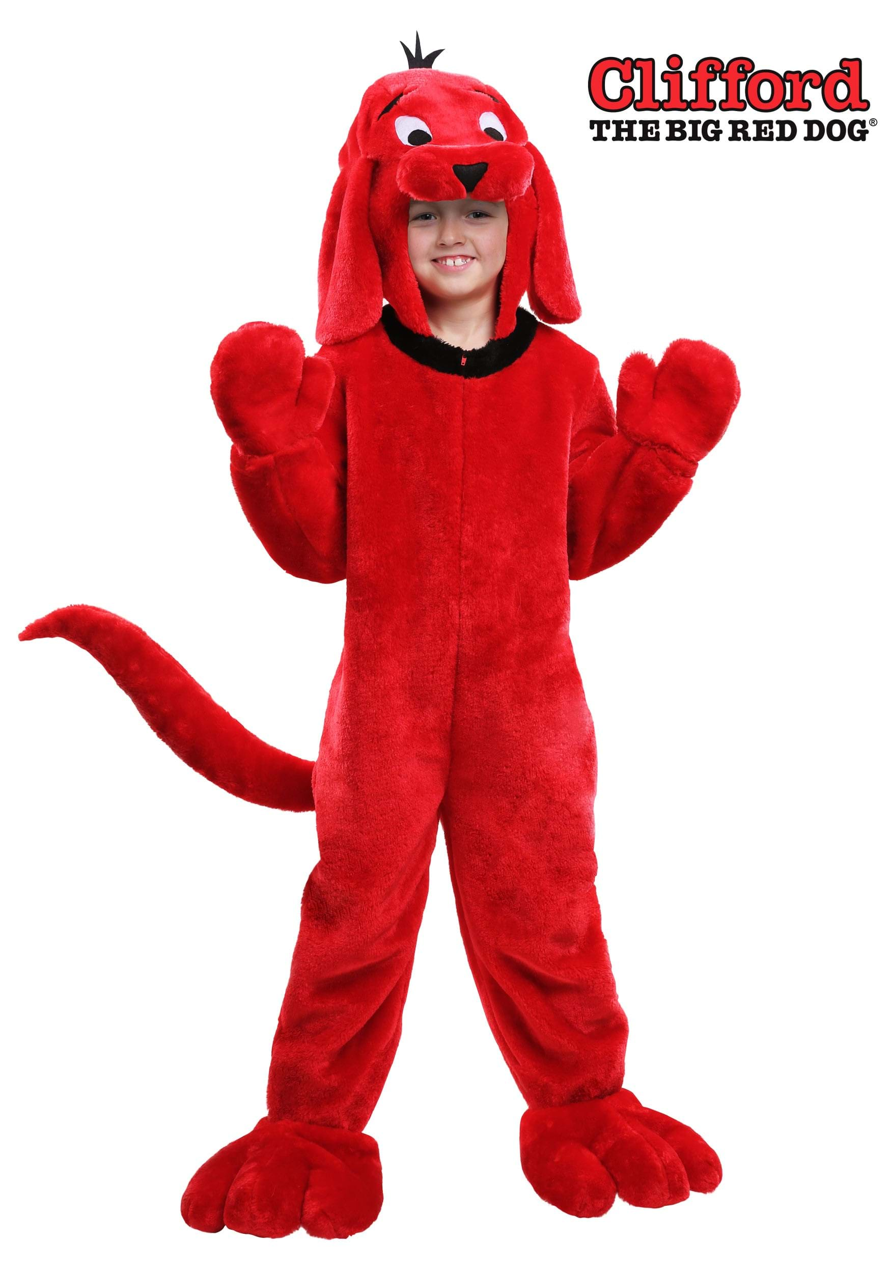 692bfd929f6 Clifford the Big Red Dog Costume for Children