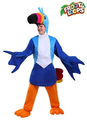 Men's Toucan Sam Costume Updated