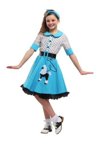 Sock Hop Cutie Costume For Girls