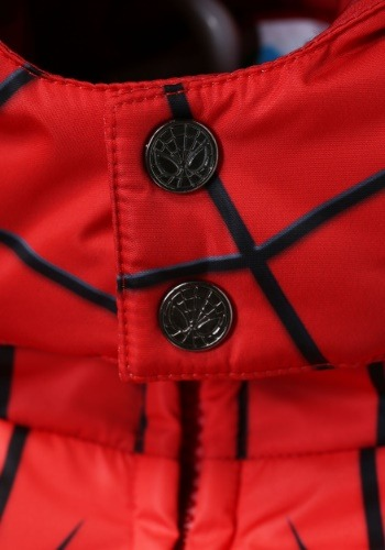 Child Spider-Man Puffer Superhero Jacket