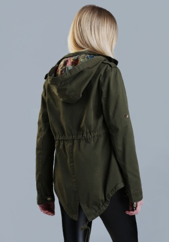 Marvel Women's Cargo Fashion Jacket