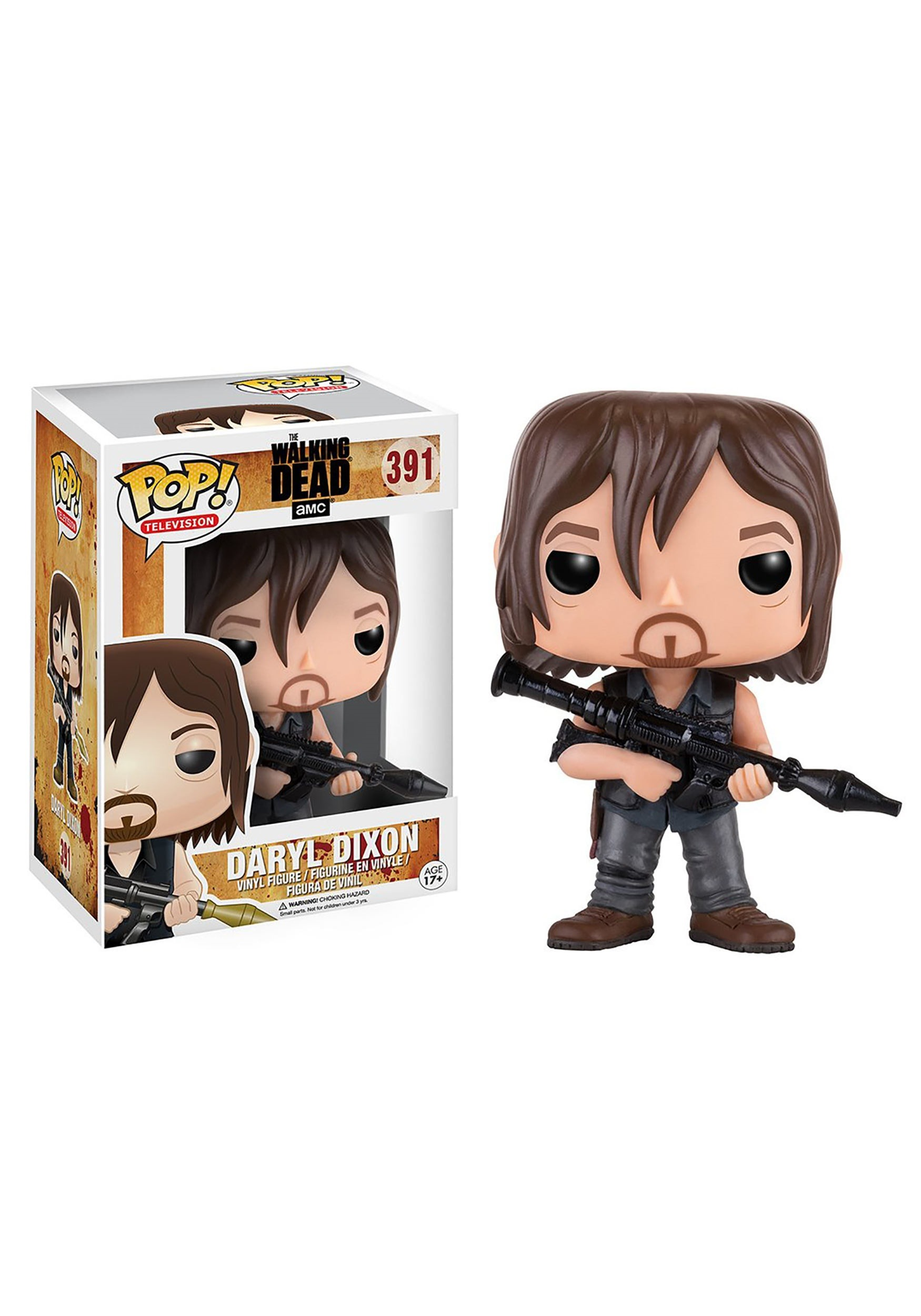 The Walking Dead Daryl Rocket Launcher POP Vinyl Figure FN11065