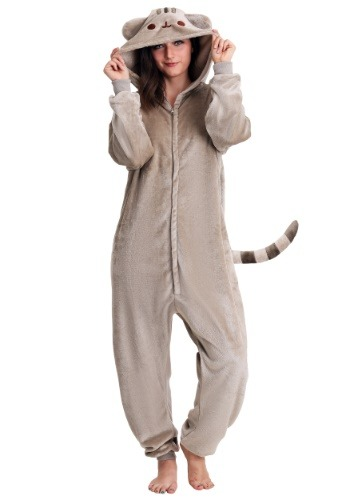 Pusheen Cat Adult Kigurumi Pajamas-2