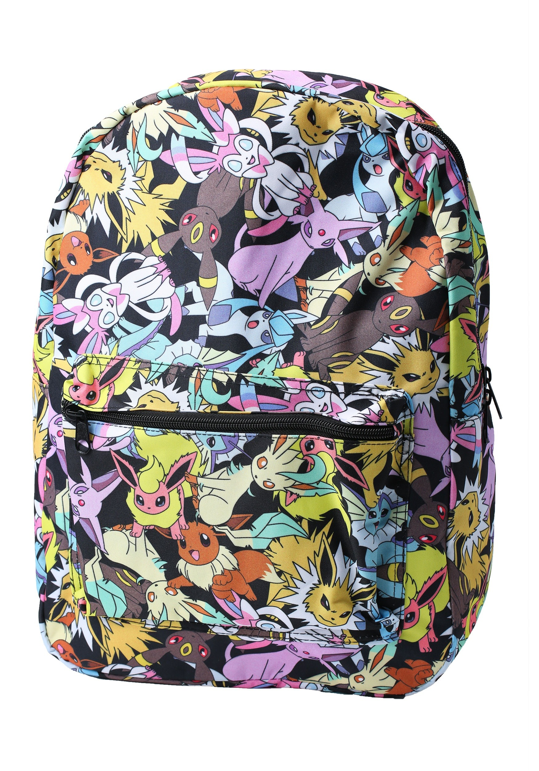 Pokemon Eevee Evolution All Over Print Backpack e0afe13649df6