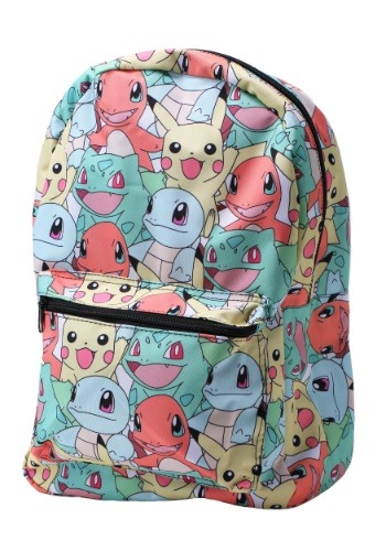 Pokemon Pastel Starters All-Over Print Backpack