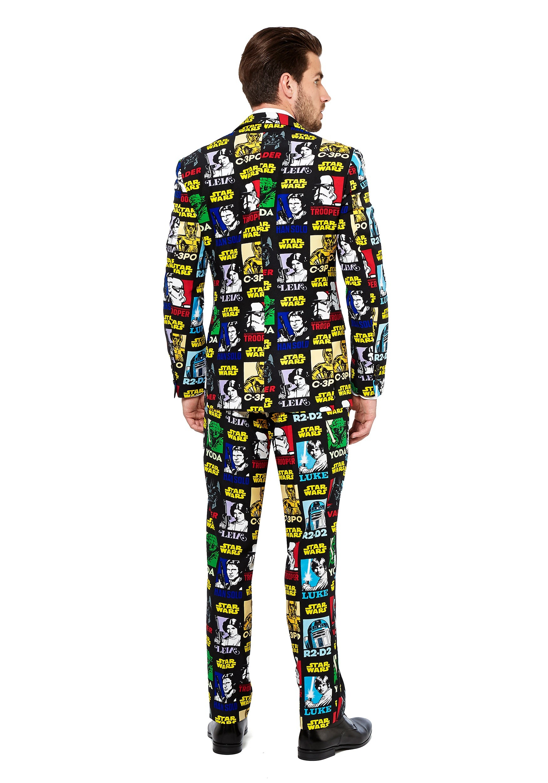 mens star wars strong force opposuit1 - Star Wars Christmas Pajamas