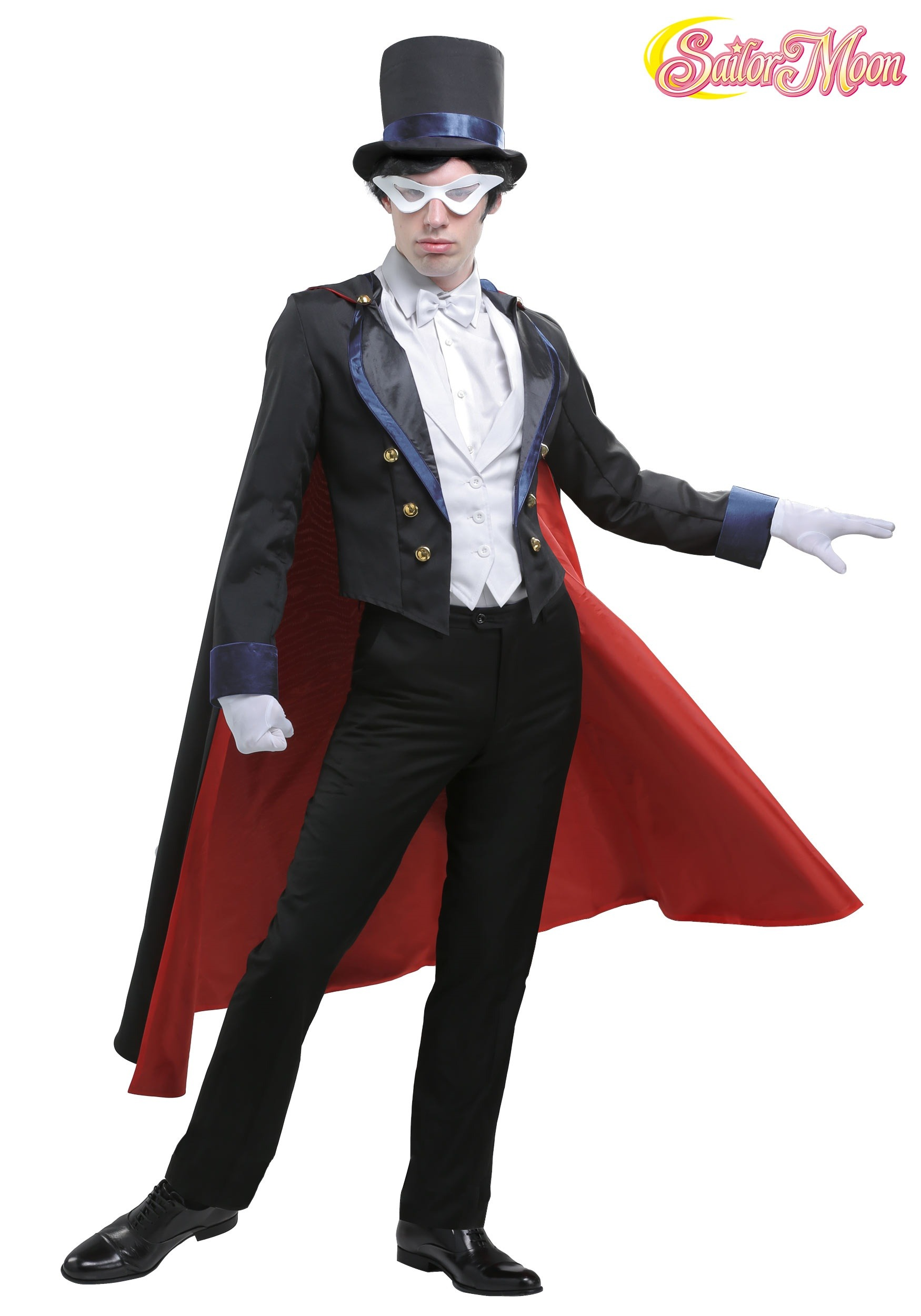 mens sailor moon tuxedo mask costume