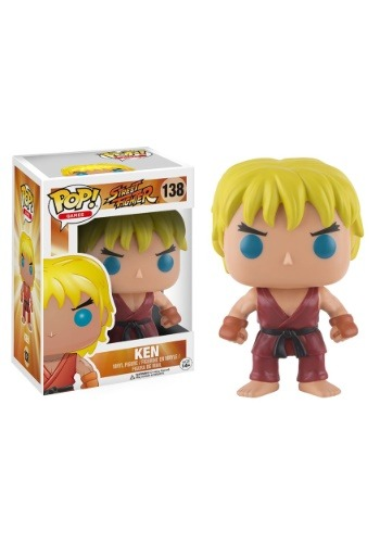 POP! Street Fighter Ken Vinyl Figure