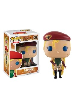 POP Street Fighter Cammy Vinyl Figure
