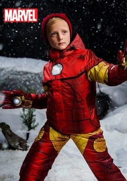 Kids Iron Man Snow Jacket update