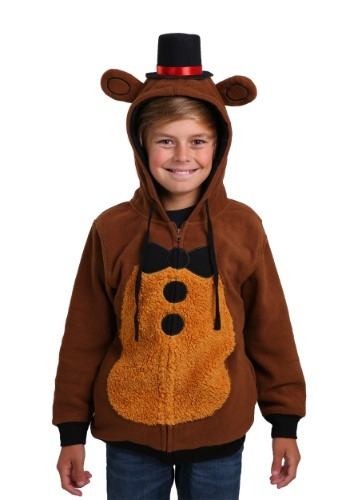 Kids Five Nights at Freddys Costume Hoodie