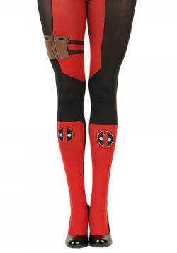 Marvel Deadpool Womens Tights