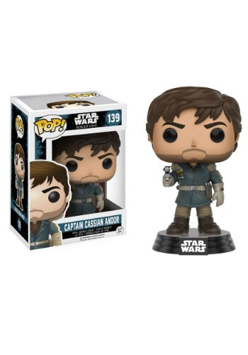 POP Star Wars Rogue One Captain Cassian Andor Vinyl Figure FN10452