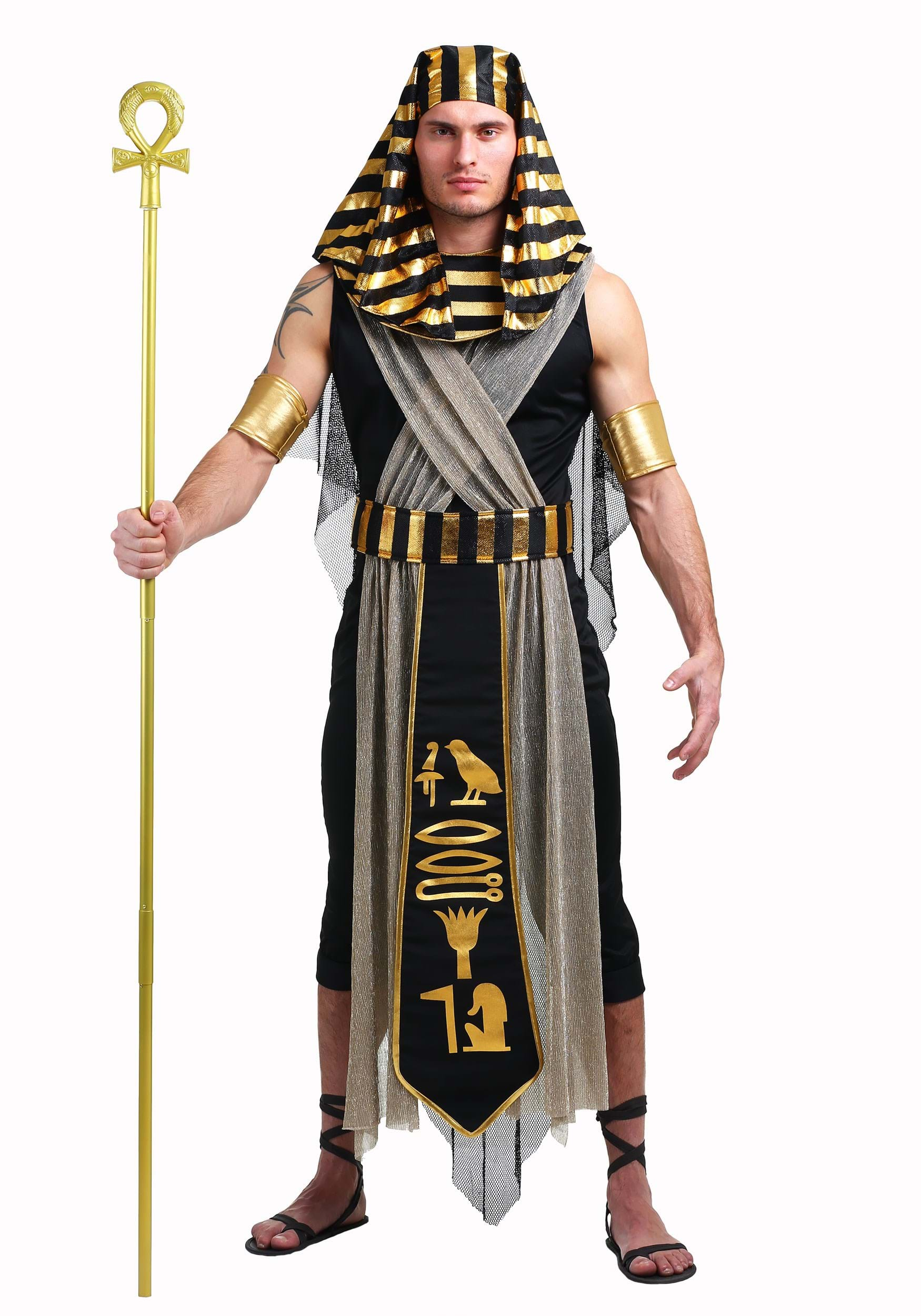 25/% off Male Egyptian Costume Size 6 As Is