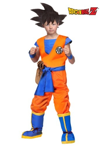 Child Dragon Ball Z Authentic Goku Costume