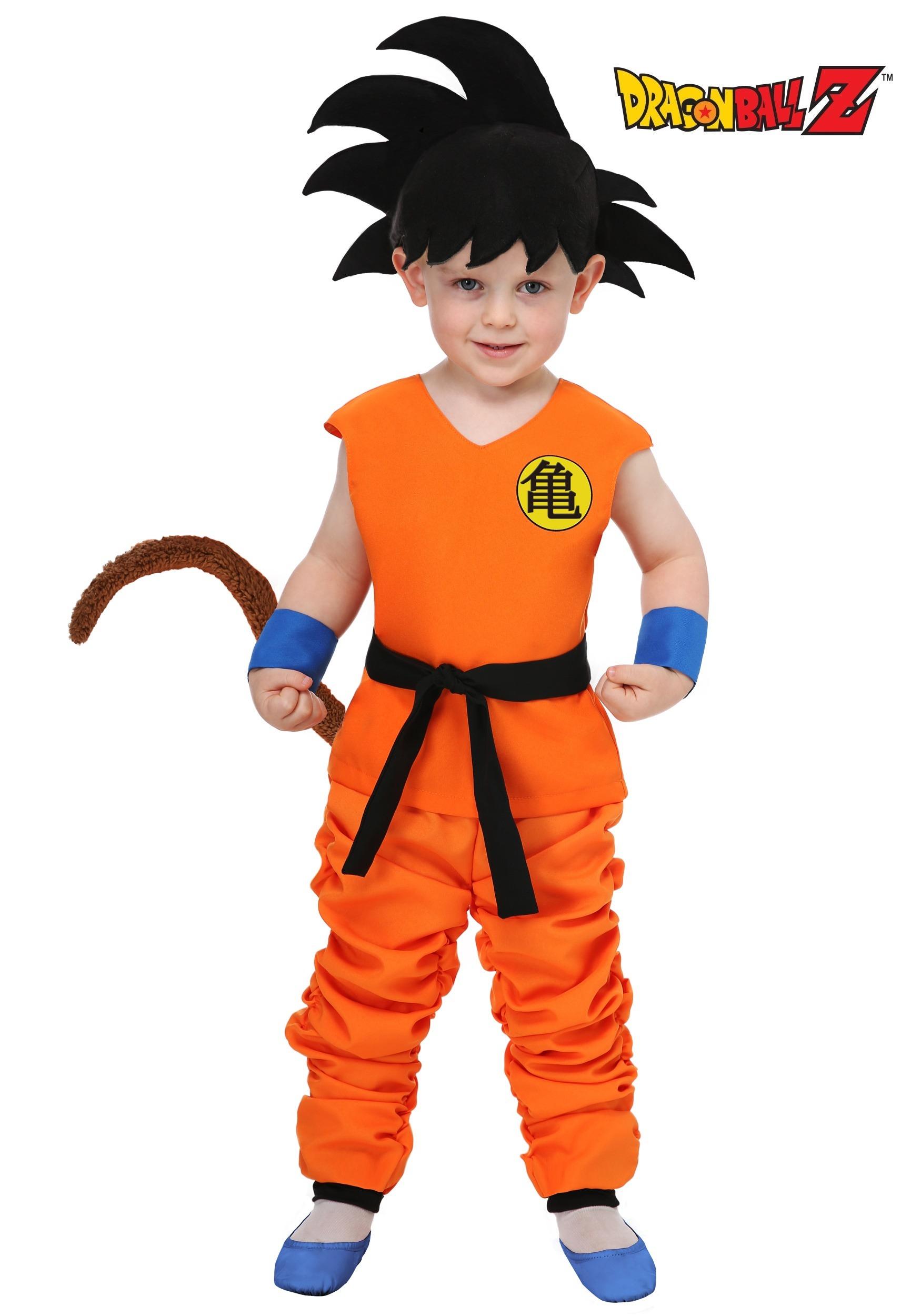 dragon ball kid goku costume for toddlers