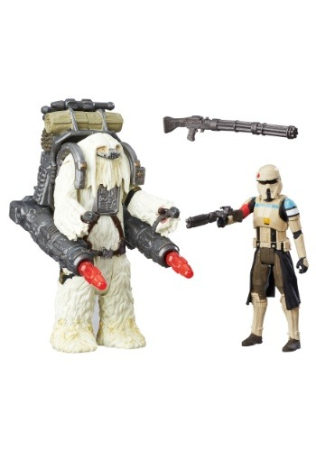 Star wars Rogue One Scariff Stormtrooper & Moroff Figure
