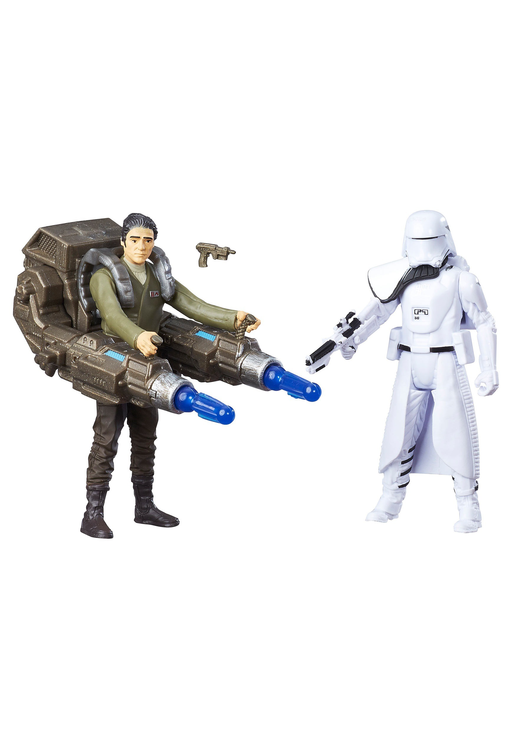 Star Wars Ep 7 Snowtrooper Officer/ Poe Dameron Figures EEDB8612AS00