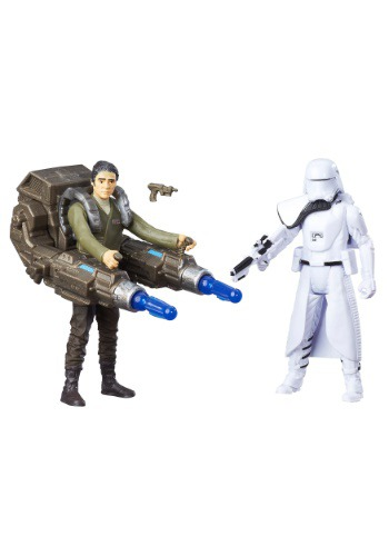 Star Wars Ep 7 SWU 2nd HB Officer/ Blue Squad Leader Figure