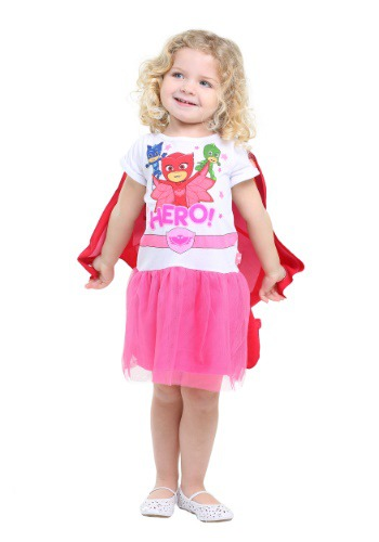 PJ Masks Eva Owlette Tutu Dress With Wings