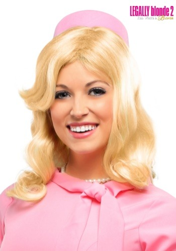 Legally Blonde 2 Elle Woods Women's Wig