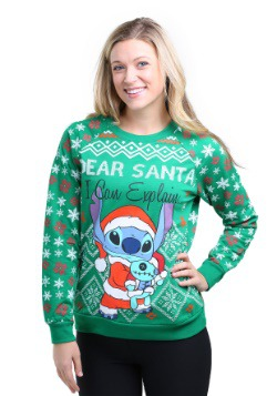 Stitch Tis The Season Juniors Pullover Sweatshirt