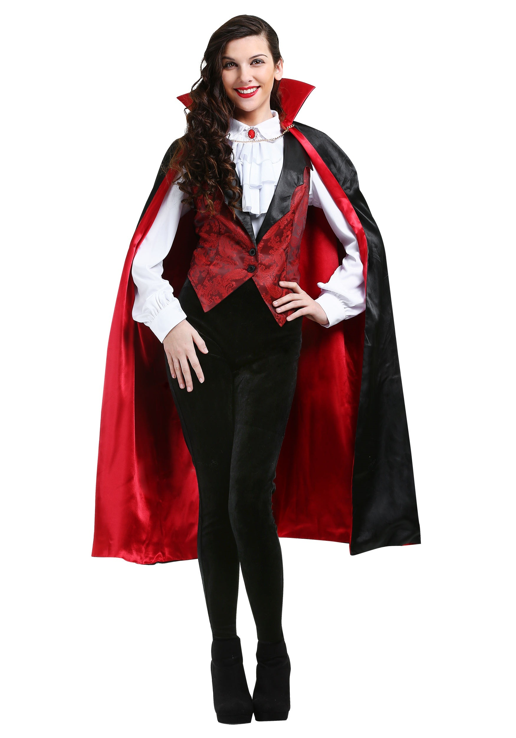 fierce vampire costume for women