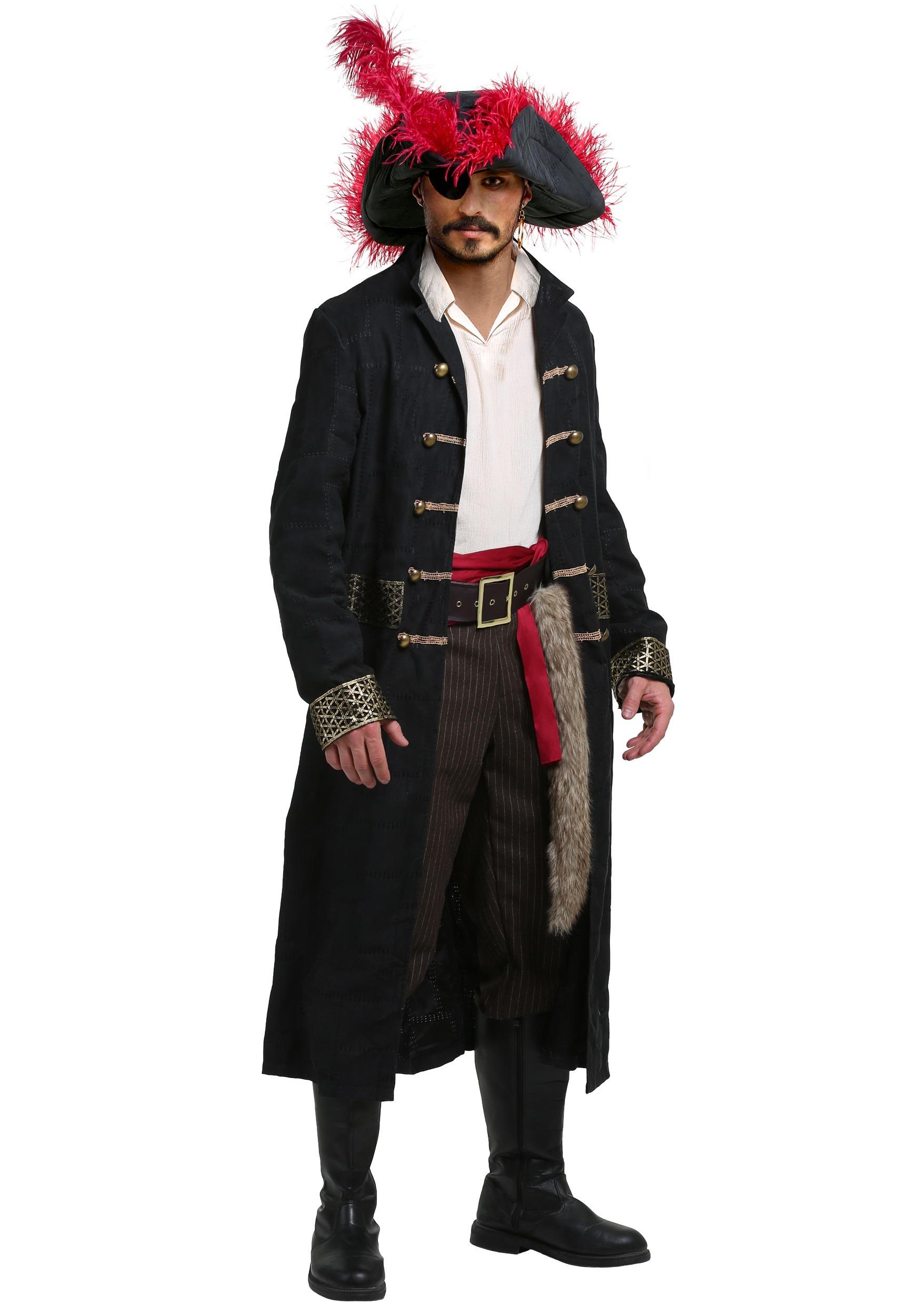 Men's Shipwreck Captain Costume FUN6279AD