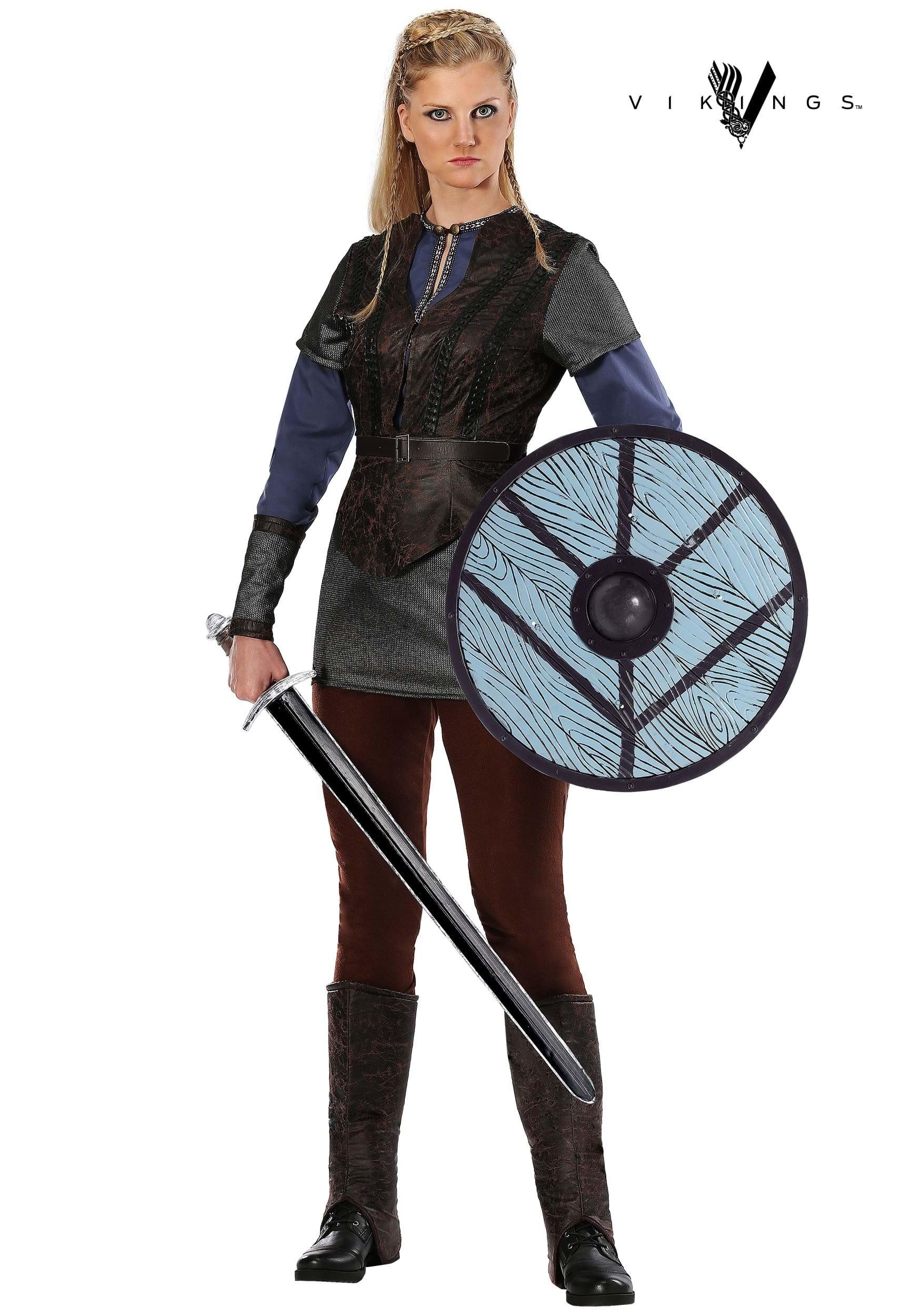Ladies Vikings Lagertha Lothbrok Costume