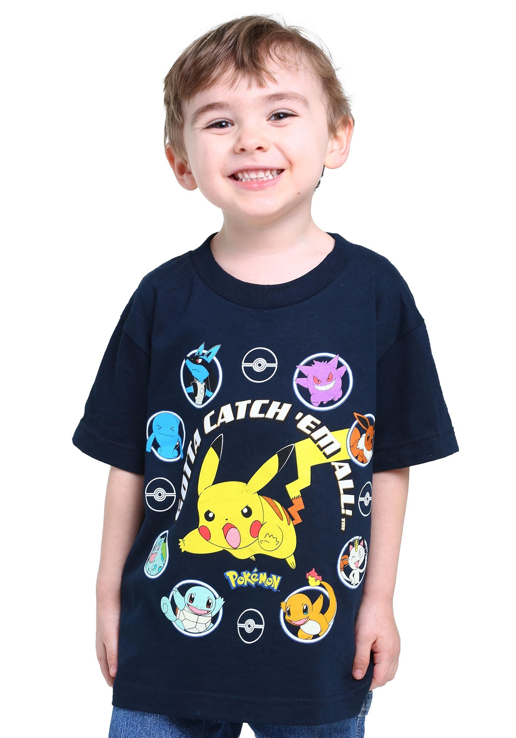 Pokemon Boys Gotta Catch Em All T Shirt
