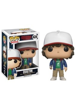 Pop Stranger Things Dustin Vinyl FIgure