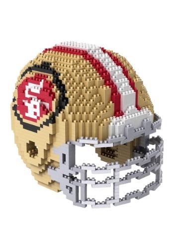 San Francisco 49ers 3D NFL Helmet Puzzle FLPZNF3DHLMSF-ST