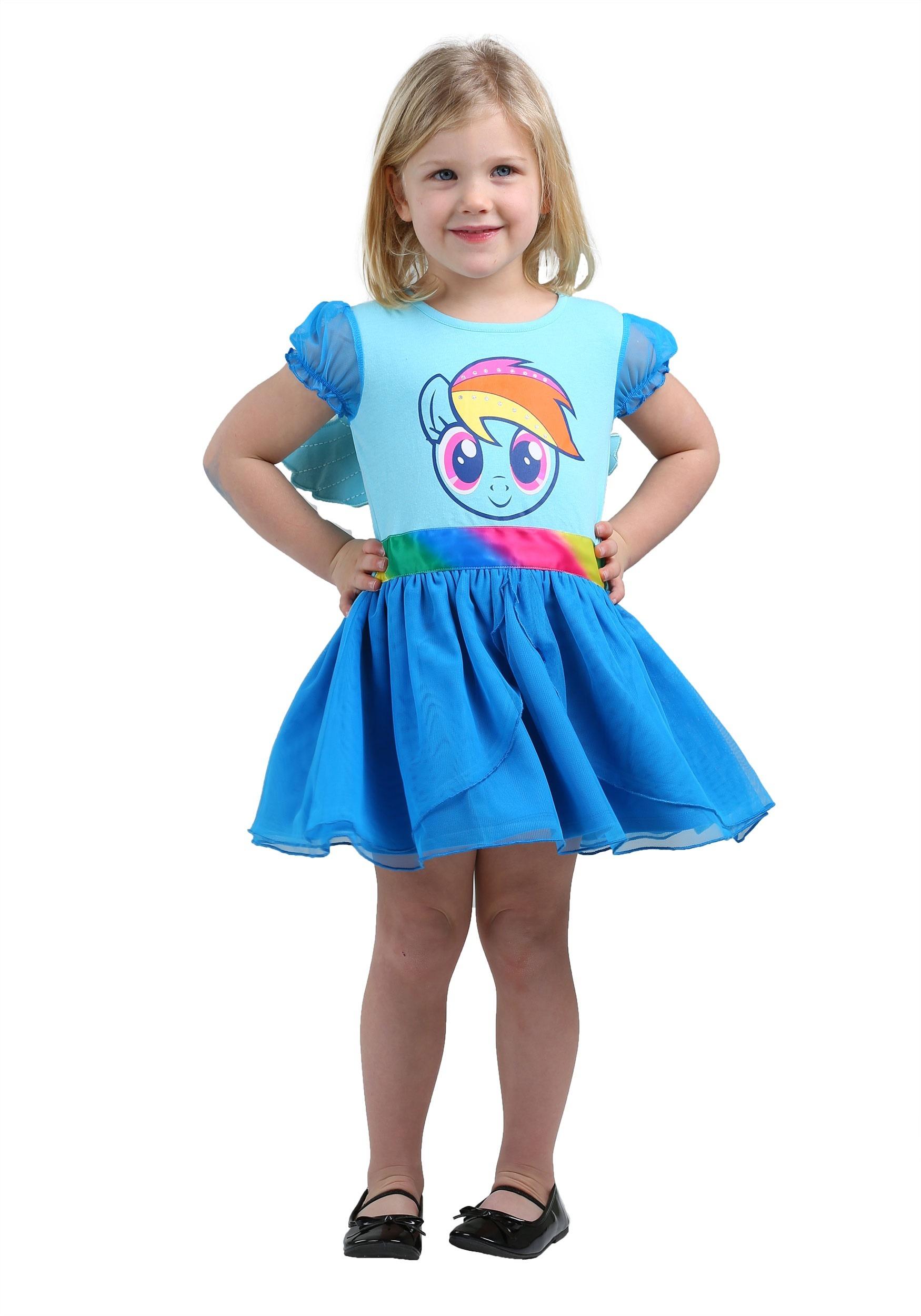 My Little Pony Rainbow Dash Tulle Costume Dress FZLJSTD01