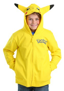 Pokemon Boys Pikachu Costume Sweatshirt
