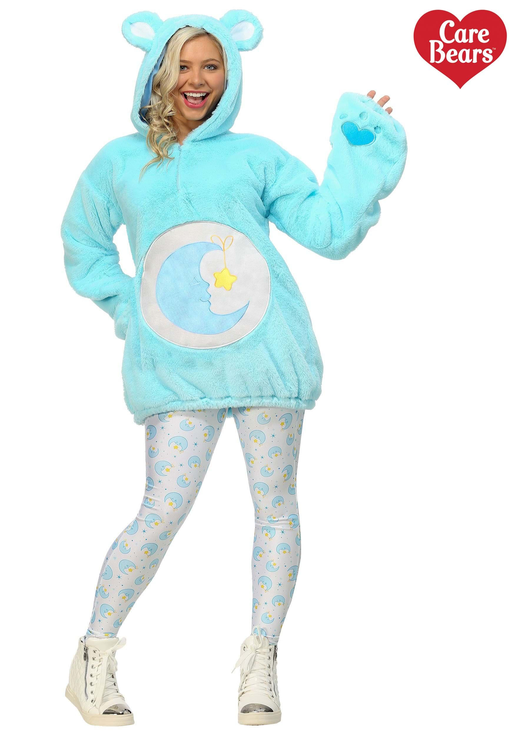 Care Bears Deluxe Bedtime Bear Hoodie Costume for Women