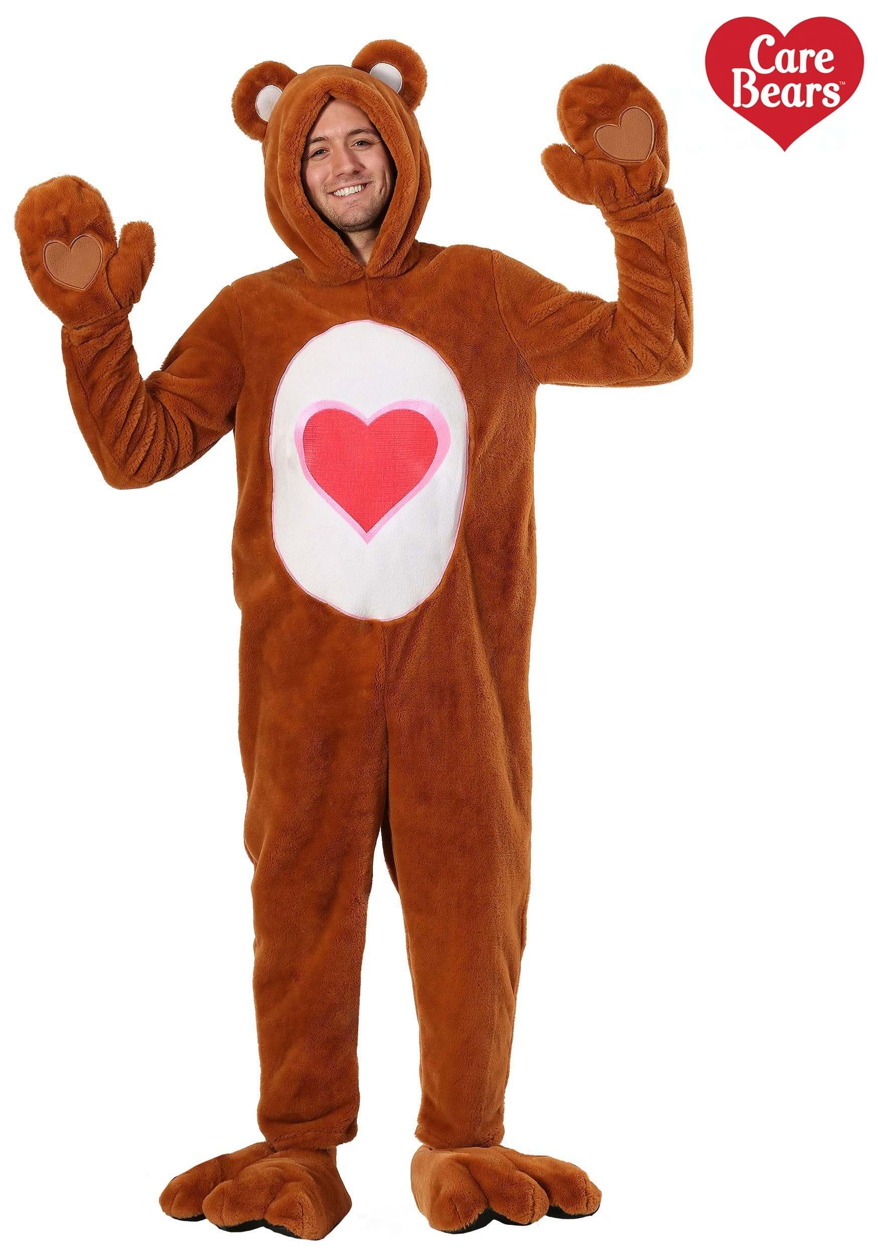 Care Bears Deluxe Tenderheart Bear Costume For Adults